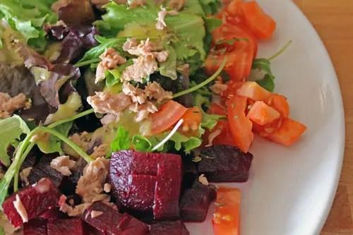Salade express au thon