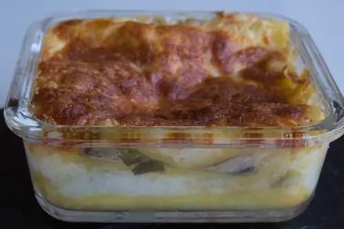 Mini-plat de lasagnes végétariennes
