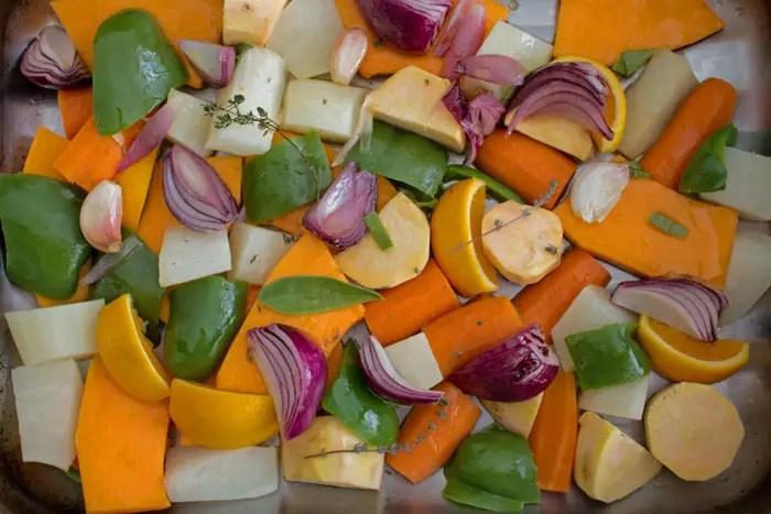 L gumes d hiver r tis au four line lisbonne et cie for Blanchir legumes pour congeler