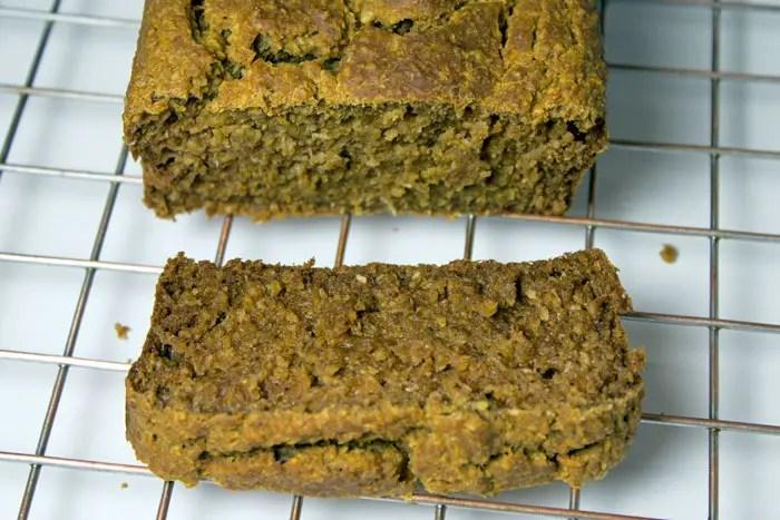 cake banane-coco sur la grille