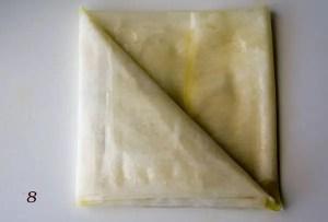 dobrar a massa para chamuça.8