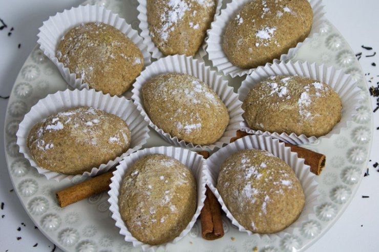 Biscuits moelleux aux amandes et à la cannelle