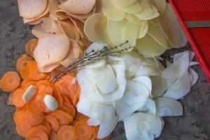 Soupe expresse d'hiver avec 4 légumes