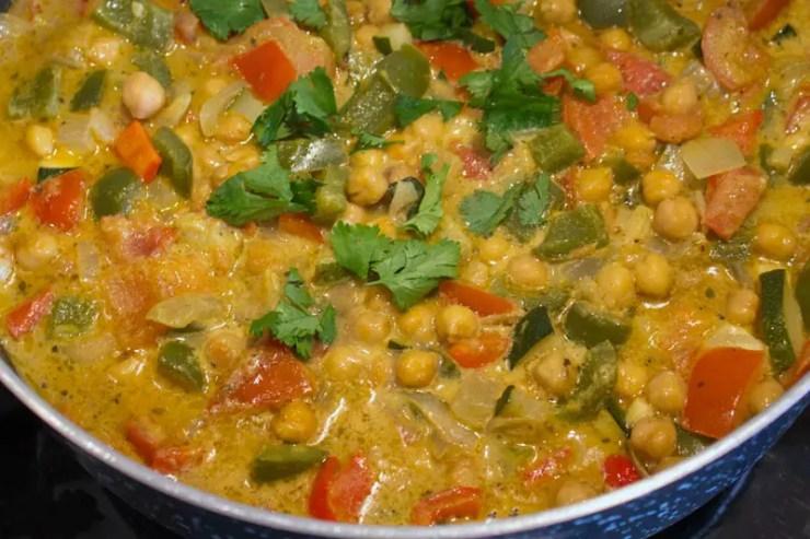 Korma de légumes de l'Indienne