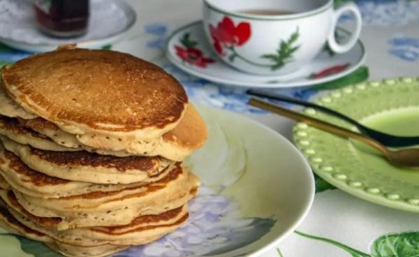 Pancakes moelleuses et succulentes