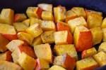 Petits Cubes de potimarron rôtis au four