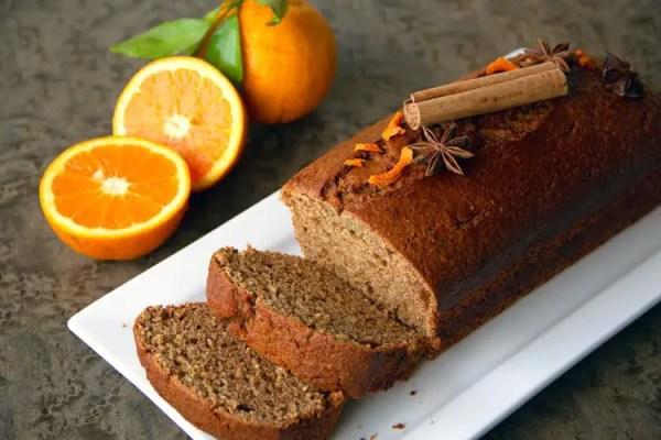 Mon pain d'épices à l'orange et aux 8 épices