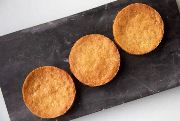 3 sablés bretons pour fonds de tarte