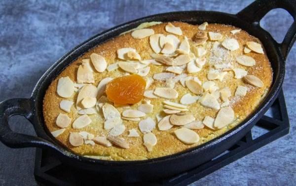 clafoutis aux abricots secs et amandes