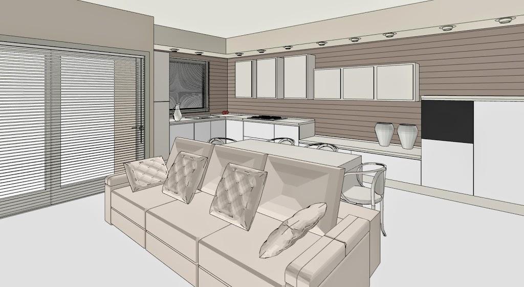 Cucina soggiorno lineatre arredamenti alberobello for 3 arredamenti