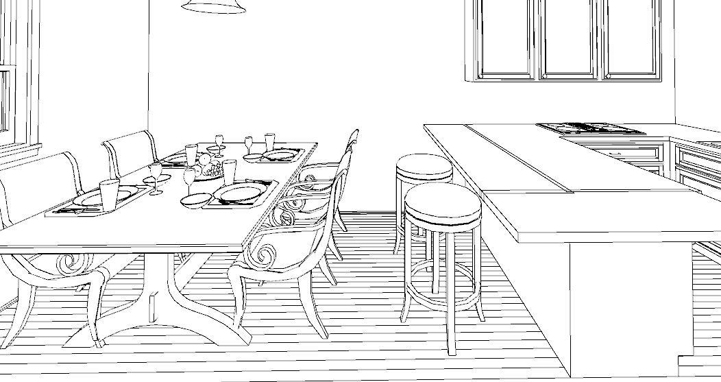 Altezza Tavolo Per Sgabelli.Una Penisola In Cucina Lineatre Kucita Gli Esperti Dell