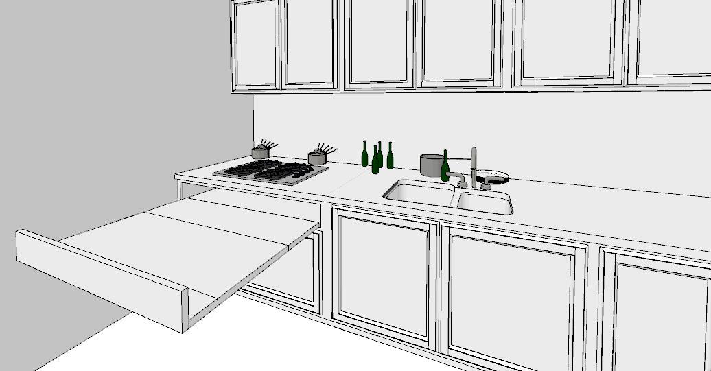 6 regole per una cucina perfetta lineatre arredamenti alberobello - Larghezza mobili cucina ...