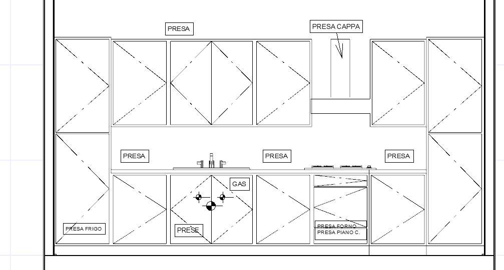 Altezza Scarico Lavandino Cucina.Come Predisporre Gli Impianti In Cucina Lineatre Kucita Gli Esperti Dell Arredamento