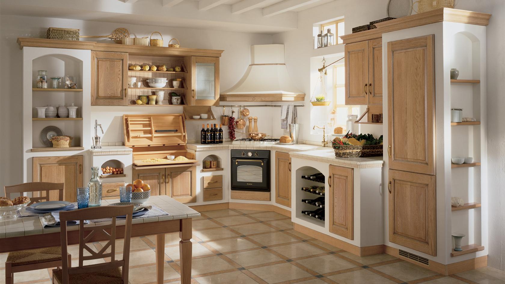 Piani Per Cucine In Muratura quale top per la cucina? il piano piastrellato - lineatre