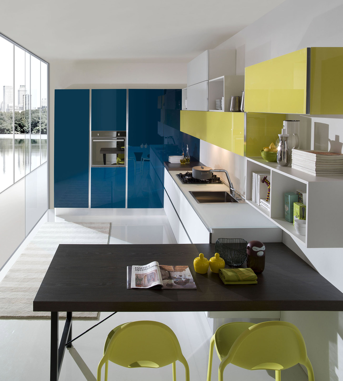 Top Cucina Marrone Trendy Primo Piano Sul Top In Quarzo