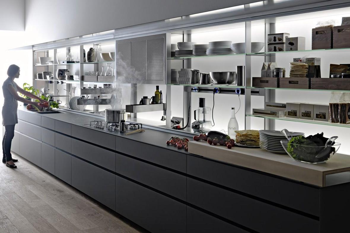 Tra basi e pensili in cucina lineatre arredamenti alberobello - Larghezza pensili cucina ...