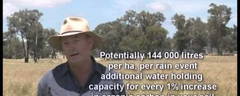10 Colin Seis - Examples of pasture cropping paddocks on his farm.avi