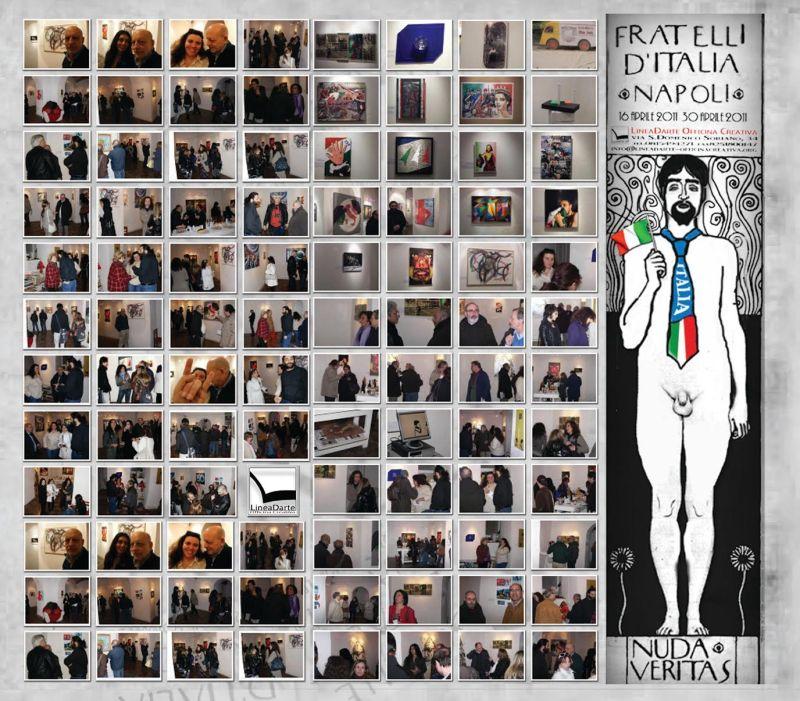 Fratelli d'Italia mostra  d'arte contemporanea a cura di Gennaro Ippolito e Giovanna Donnarumma