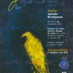 """""""Giallo"""", dal 6 al 12 dicembre Ignazio Monteleone espone a Palazzo De Leva"""