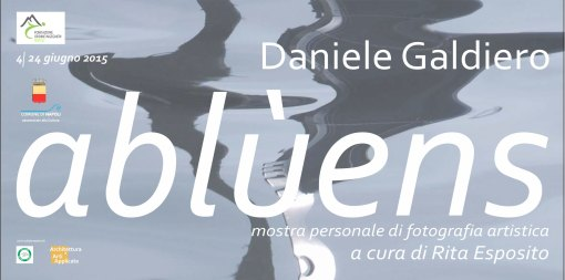 """ABLÙENS"" DI DANIELE GALDIERO"