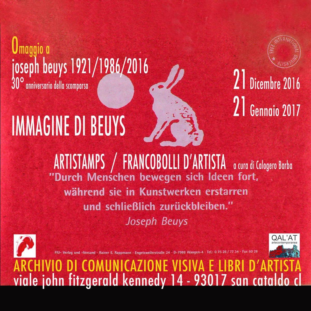 Immagine di Joseph Beuys – Artistamps/Francobolli d'Artista