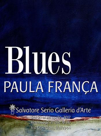 Blues -Mostra di pittura Paula França.