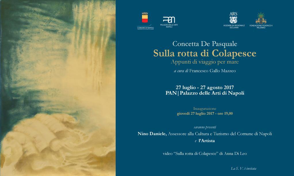 Concetta De Pasquale – Sulla rotta di Colapesce, appunti di viaggio per mare
