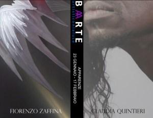 "Fiorenzo Zaffina / Claudia Quintieri. ""Apparenze"""
