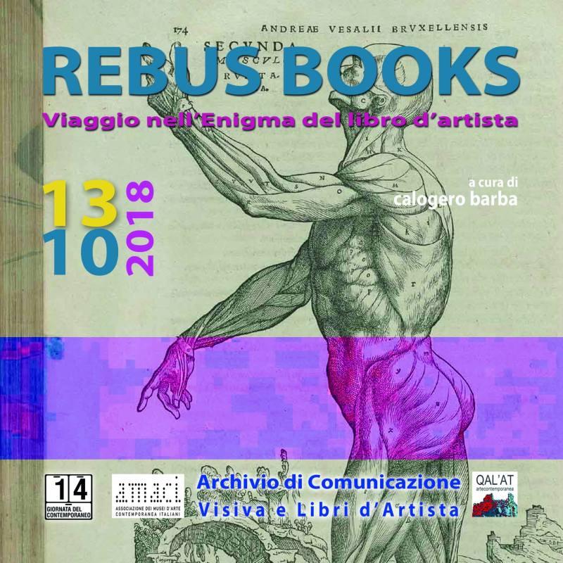 """""""REBUS BOOKS"""" a cura di Calogero Barba"""