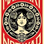 Shepard Fairey aka Obey – Make art not war