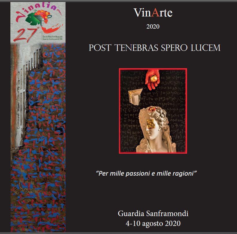 Copertina d'Autore, Catalogo VinArte 2020