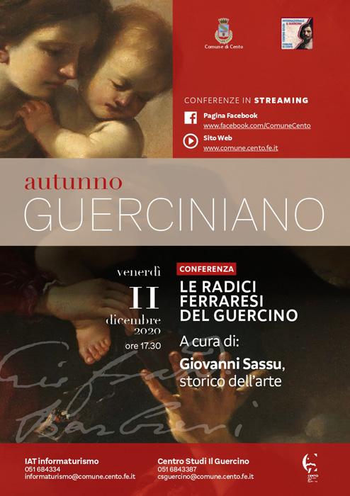 AUTUNNO GUERCINIANO 2020/2021 Un ciclo di incontri dedicato al grande Maestro Guercino