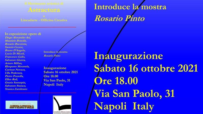 ASTRACTURA gruppo artistico italiano ed internazionale