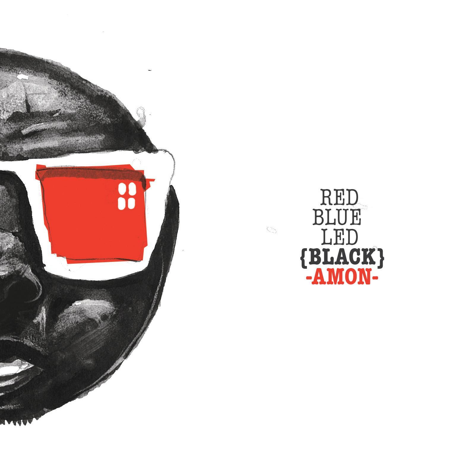 Red Blue Led (Black) di Amon