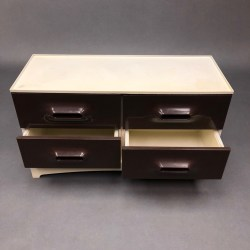 Meuble tiroirs Marc Held pour Prisunic 1970
