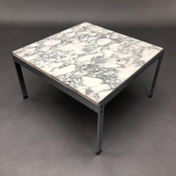 Table basse marbre années 70