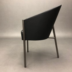 Fauteuil Costes en cuir Philippe Starck pour Driade