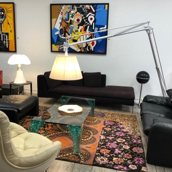 Lampadaire Superarchimoon Philippe Starck pour Flos