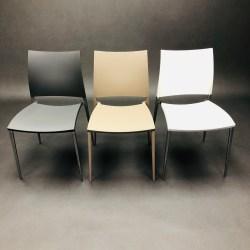 Lot de 3 chaises Sand Dondoli e Pocci pour Desalto