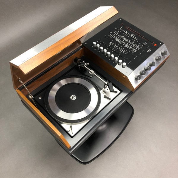 Ensemble Chaine Wega 3204 HiFi paire d'enceintes Grundig Audiorama 7000