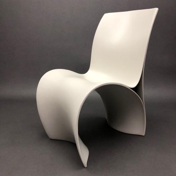 Lot de 6 chaises Three Skins Ron Arad Moroso