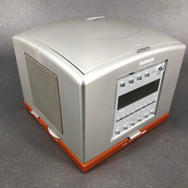 Radio réveil CD RR500S Philippe Starck Thomson