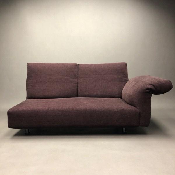 Canapé Essential Francesco Binfaré Edra accoudoir droite