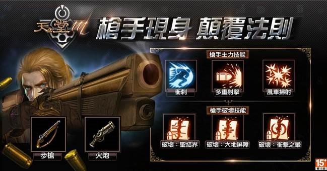 槍手主力技能