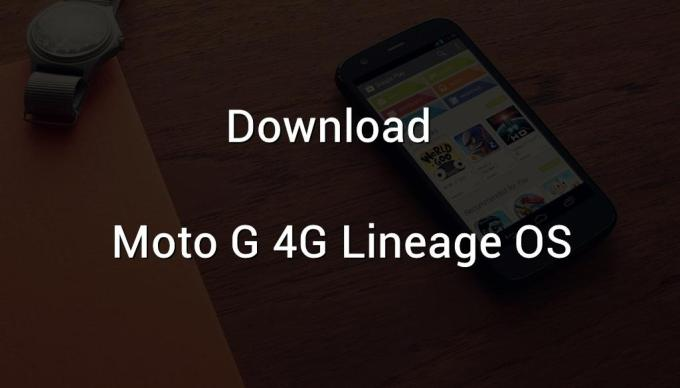 moto g 4g lineage os