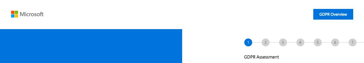 Microsoft GDPR quiz