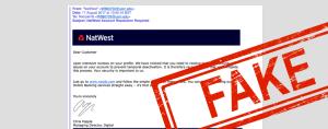 phishing email natwest