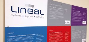 about lineal wall sign