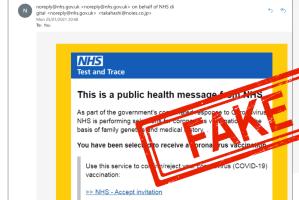 fake nhs email