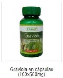 Graviola cápsulas